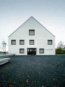Gemeindehaus-Front