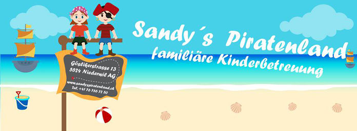 Sandys Piratenland Logo